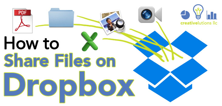 How to Share Files on Dropbox